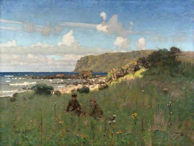 Nairn, James, (1859-1904), Kildonan, 1886, Oil