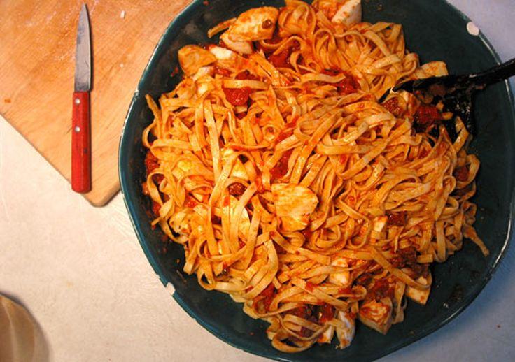 Recipe: 3-Sausage Pasta Sauce