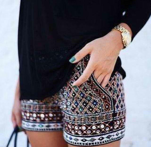 Shorts. Elegante y casuales.