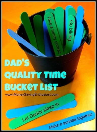 Celebrate Dad Throughout the Year: 52 Inexpensive Things to Do (with Dad)