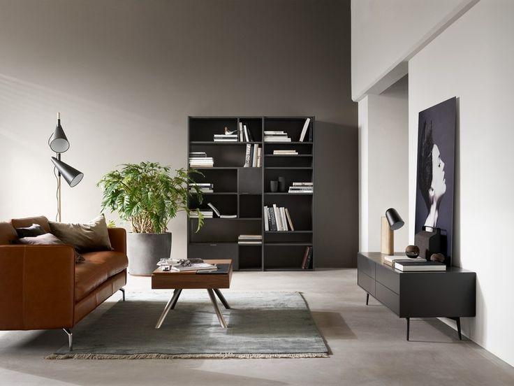 Copenhagen - black designer bookcase Sydney