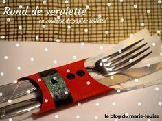 DIY Noël en rouleaux de papier toilette https://leblogdemarielouise.wordpress.com/2015/12/03/une-decoration-de-noel-tout-en-rouleau-de-pq/