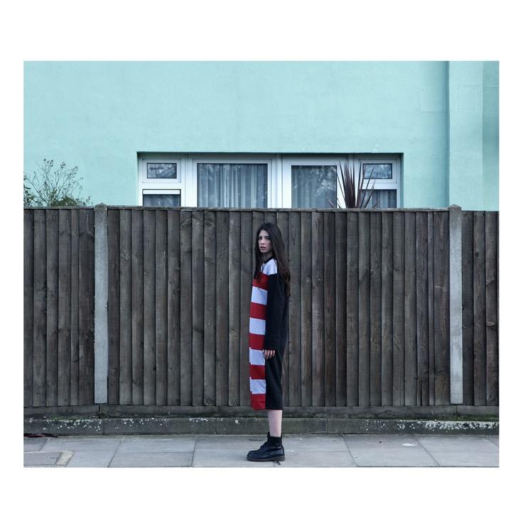 SHOOP  NW Stripes Long Dress  http://shoopshop.bigcartel.com/product/nw-stripes-long-dress