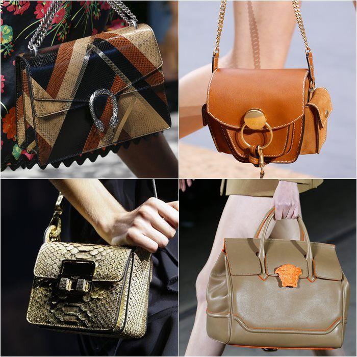 Handbag Fashion Trends Spring-Summer 2016