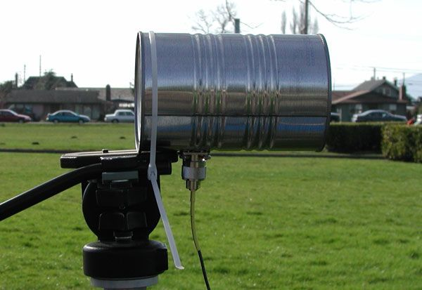 How To Build A Tin Can Waveguide WiFi Antenna   Not that there will be wi-fi when/if the SHTF