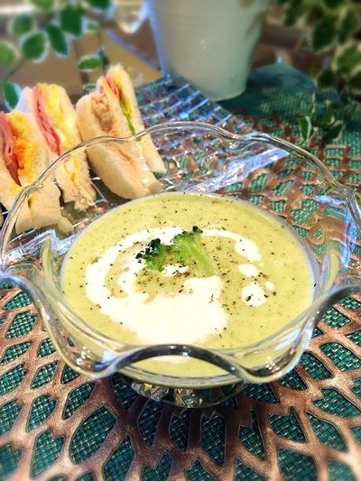 冷た〜い♡体喜ぶ.・☆ブロッコリー冷静スープ by crystal☆colorさん ...