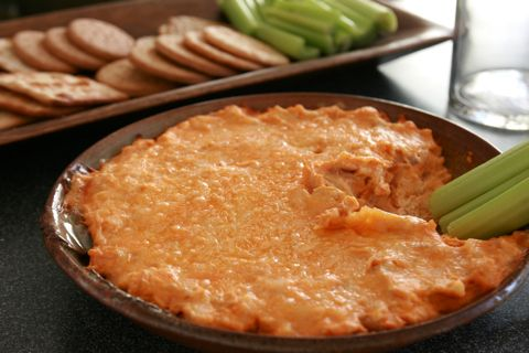 Buffalo Chicken Dip. This stuff is AMAZING!