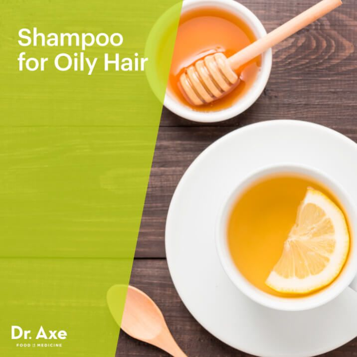 Tea Tree, Green Tea & Honey Shampoo for Oily Hair