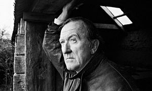 'After a cameo role in Father Ted in 1998, PJ Kavanagh, a lean pipe smoker with a distinctive face and voice, was plagued with offers of more work playing Irish priests.' Guardian (Photograph: Richard Baker/In Pictures/Corbis)