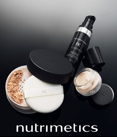 Get that flawless finish with Nutrimetics Colour range