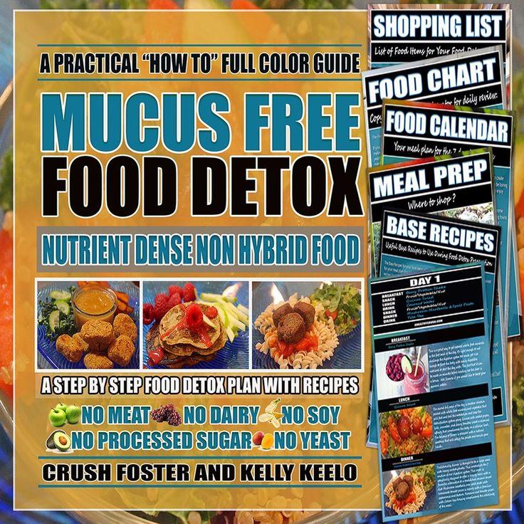 MUCUS FREE FOOD DETOX EBOOK - A HEALTHY CRUSH DIGITAL STORE