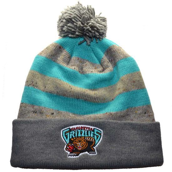 Vancouver Grizzlies Mitchell & Ness NBA Beanie