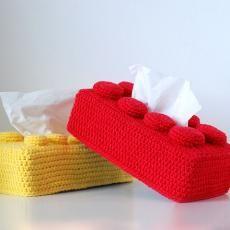 Caixa de mocadors de Lego