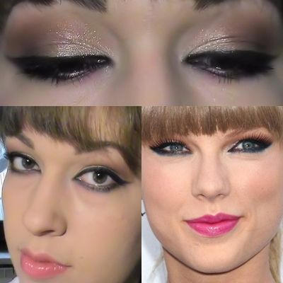 make up ispirazione Taylor Shift