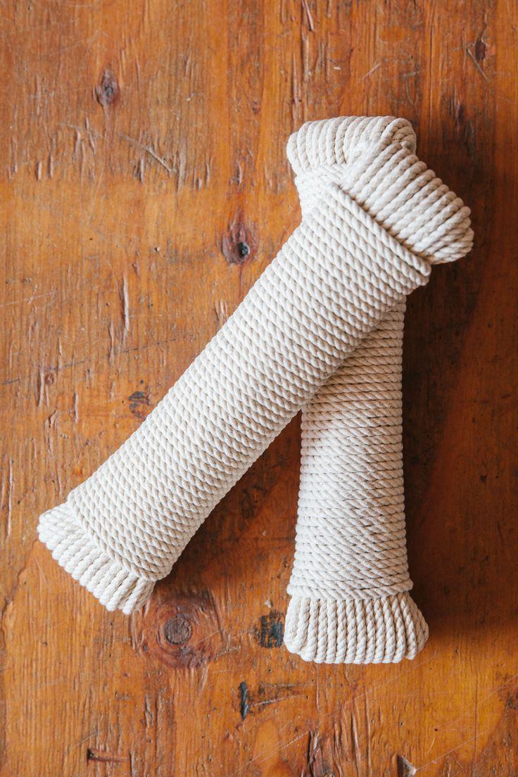 "100' 3/16"" Cotton Rope"