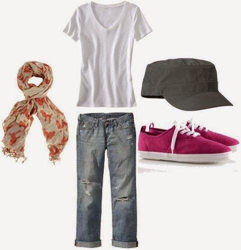 A Delightful Girl: Weekend Wardrobe Staples