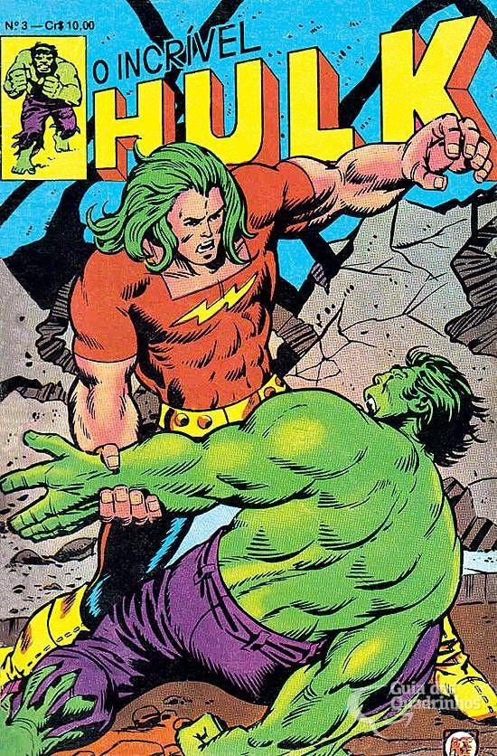 Incrível Hulk, O  n° 3/Rge | Guia dos Quadrinhos