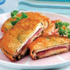 Las recetas de Blanca: Berenjenas con jamón y queso rebozadas