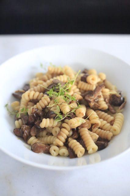 majas kokvrå: Pasta med brunsopp