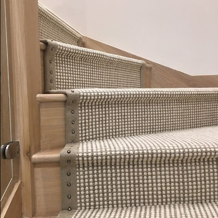 600 Odd Bronzed Studs Were Meticulously Hammered In This Apartment Install  Using A STARK Wool · Stair RunnersStair ...