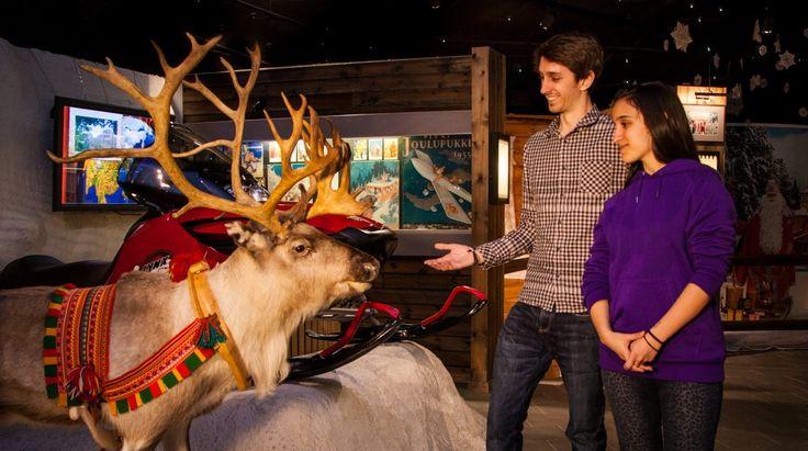 Christmas House Santa: visit Christmas Exhibition in Santa Claus Holiday Village…