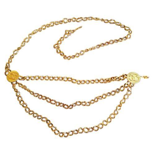 vendita più calda famoso marchio di stilisti il più votato genuino Chanel collana/cintura Vintage €650/ Chanel Vintage Belt and ...