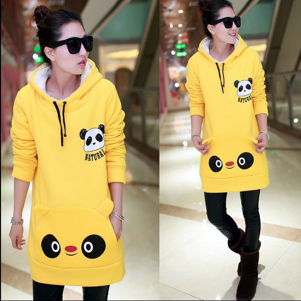"Fashion cartoon panda hoodie Cute Kawaii Harajuku Fashion Clothing & Accessories Website. Sponsorship Review & Affiliate Program opening!I so much love hoodie, and this one is definitely something I want to have, if you want to have too use this coupon code ""Fanniehuang"" to get all 10% off"