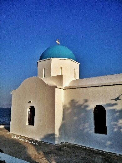 Saint Nicolas church - Piso Livadi Paros island Greece