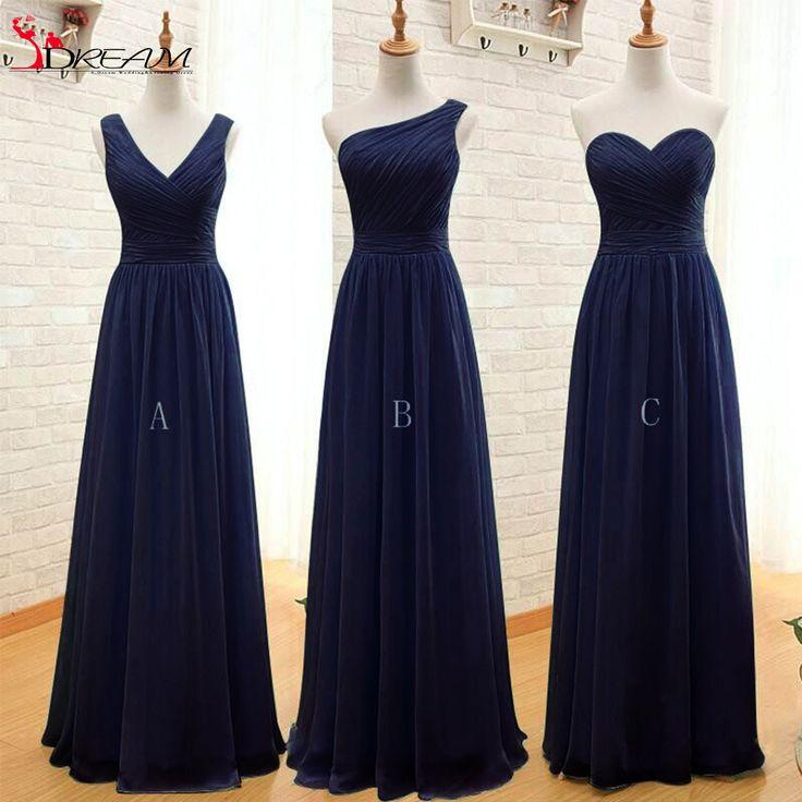 Convertible 2016 Cheap Bridesmaid Dresses Mint Green Navy Blue Chiffon Long Discount Wedding Party Dresses Under 60-in Bridesmaid Dresses from Weddings & Events on Aliexpress.com | Alibaba Group
