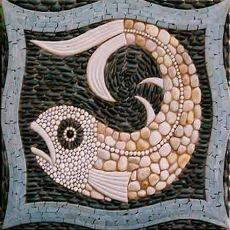 Maggy Howarth - Cobblestone Design. I think this would make a lovely design around koi pond.
