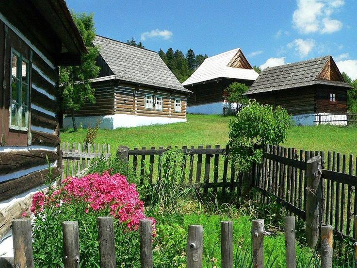 Slovakia, Stará Ľubovňa - Folk Architecture