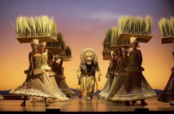 """The Lion King gives new meaning to """"grass mat""""."""