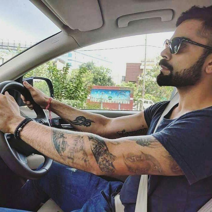 Virat Kohli Hand Tattoo Hd Image Tattoo Art