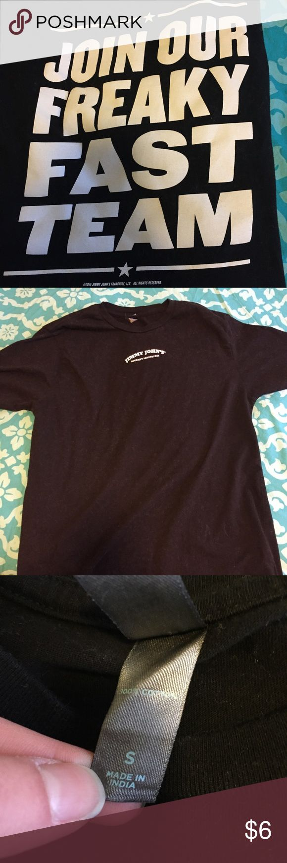 Jimmy Johns Gourmet Sandwiches TShirt Only worn once, excellent condition. Super soft employee shirt but also perfect for super fans! Jimmy Johns Shirts Tees - Short Sleeve