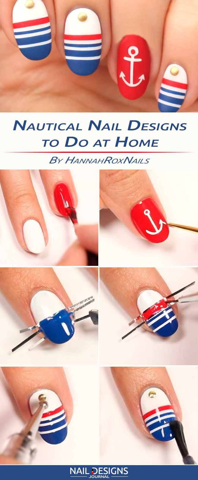 Best  Nail Art At Home Ideas On Pinterest Diy Nails Nail Art - Nail designs home