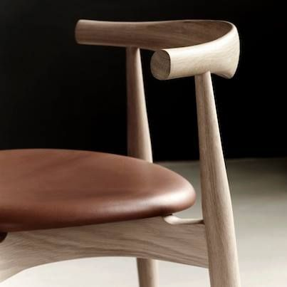 The Elbow Chair by Hans J. Wegner. Originally designed in 1956. Reintroduced in 2005  #carlhansenandson