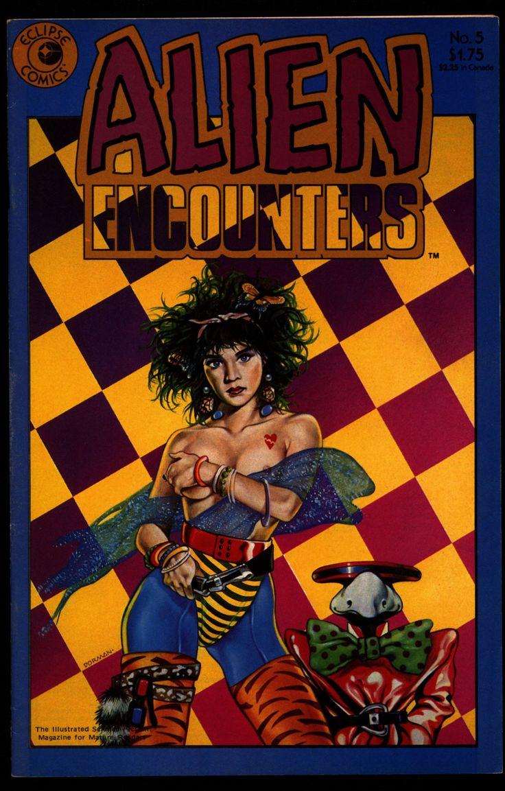 ALIEN ENCOUNTERS #5 Richard Corben David Dorman Chuck Beckum David Lloyd seclipse Comics Science Fiction