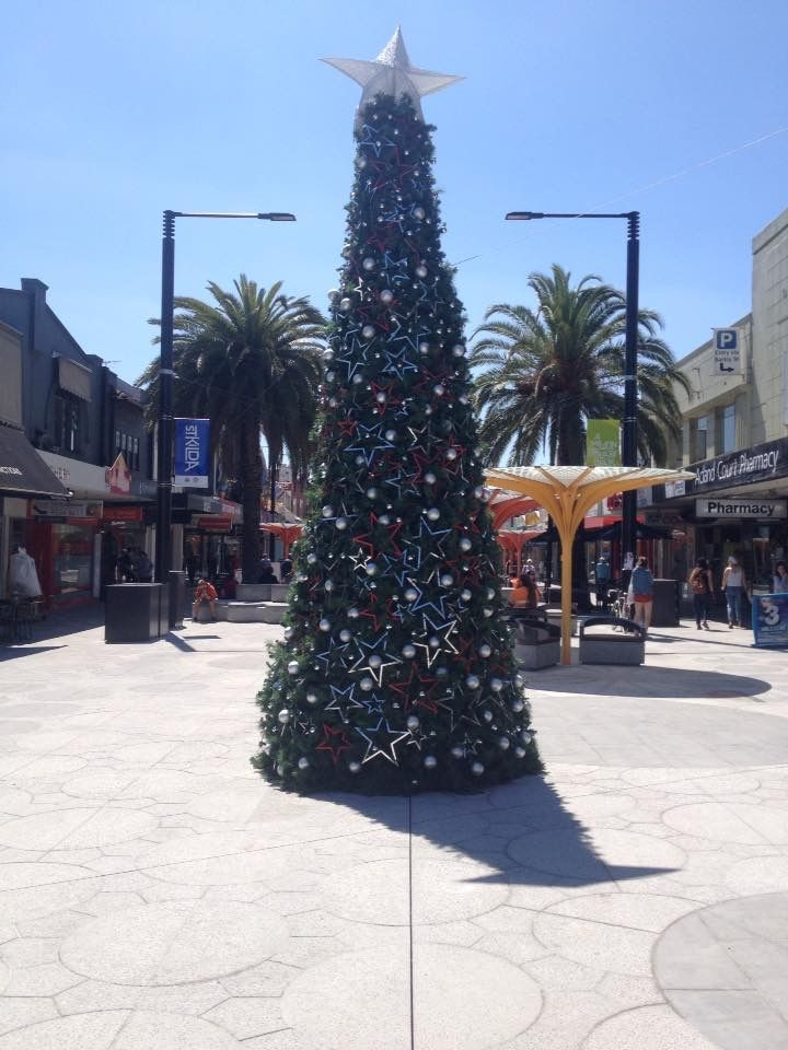 Christmas Tree - Acland Street 2016