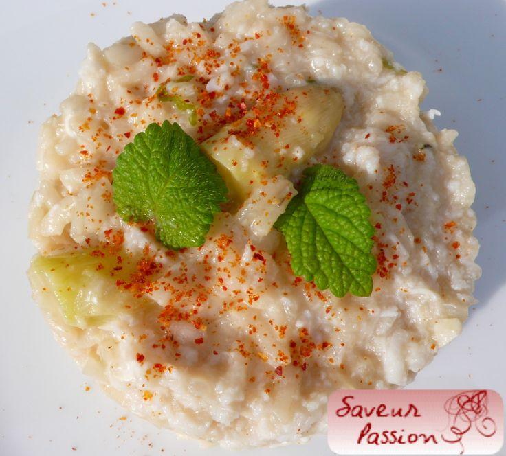 Fin des asperges ? Risotto aux asperges blanche, crabe et chèvre frais - SAVEUR PASSION