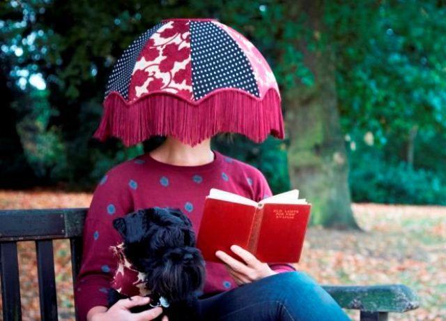 Zoe Darlington lampshades