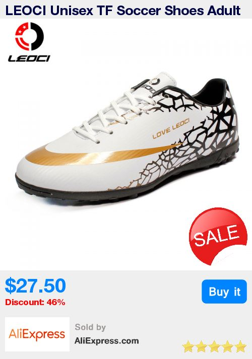 LEOCI Unisex TF Soccer Shoes Adult and Kids Turf Football Boots Anti-Collision Sport Shoes For All Seasons  Size 33-44, 4 Colors * Pub Date: 21:13 Jun 18 2017