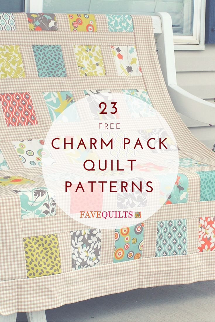The Most Charming 23 Charm Pack Quilt Patterns Pandora