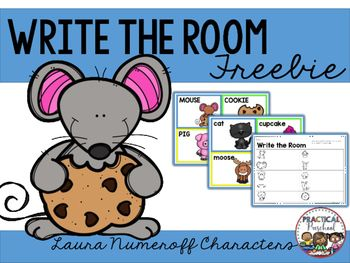 "This is a fun activity to go with the Laura Numeroff ""If You Give..."" books…"