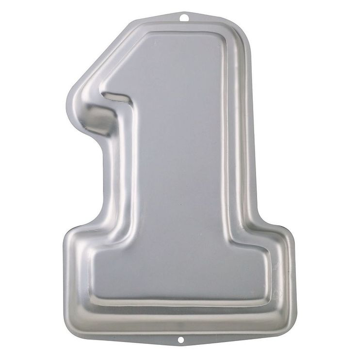 Wilton Number One Cake Pan, Multicolor