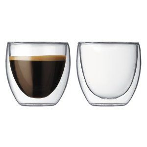 2.5oz espresso shot glasses. Because it turns out cute and sexy can apply to glassware. $13.99