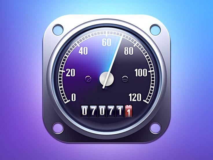 Motorcycle speedometer | Designer: Loggia