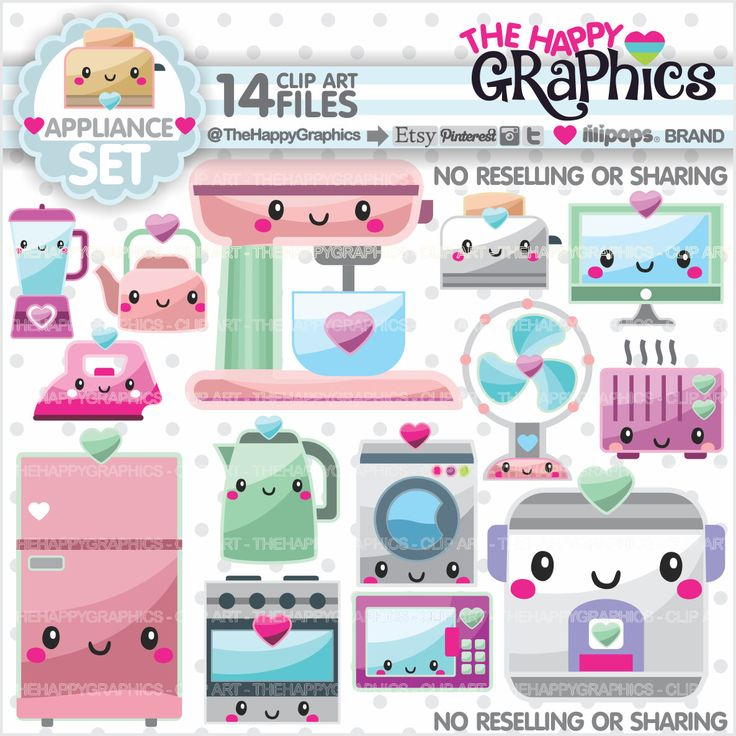 Appliance Clipart, 80%OFF, Appliance Graphics, COMMERCIAL USE, Planner Accessories, Supplies Clipart, Home Clipart, Chore Clipart