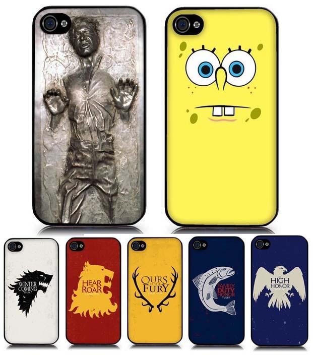 Jeux-concours – 3 coques iPhone à gagner ! (Han Solo Carbonite, Bob L'éponge, Game Of Throne)