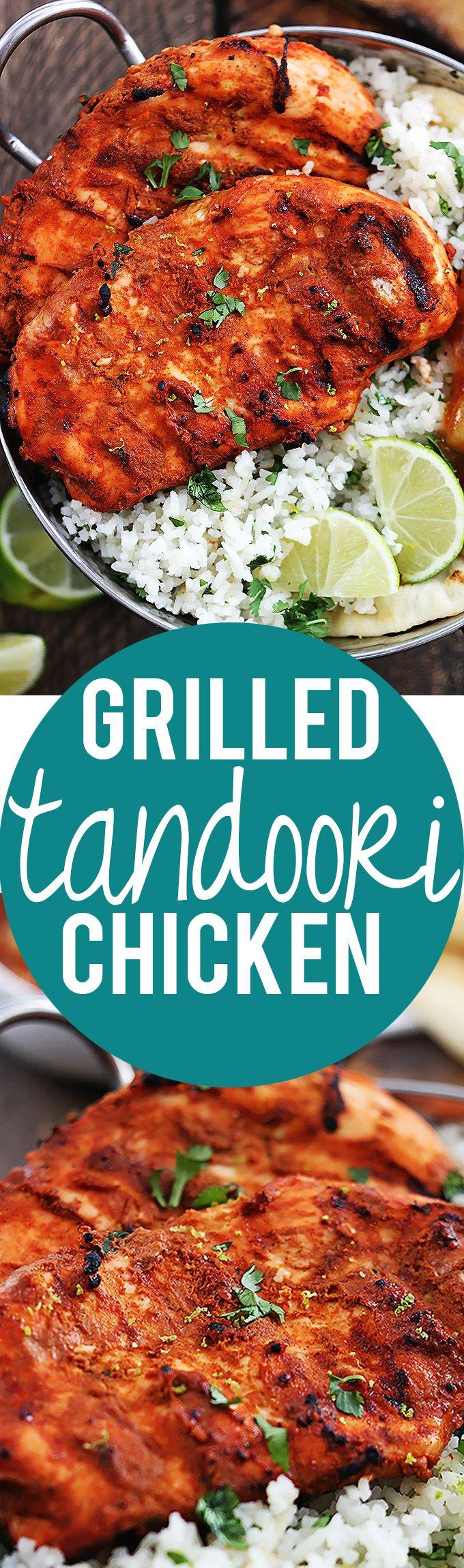 Grilled Tandoori Chicken | Creme de la Crumb