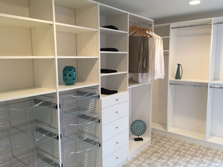 Custom Walk In Closet By Closets For Life   Looking To Boost Your Home Value